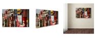 "Trademark Global Mike Jones Photo 'Rt 66 Cuba Missouri' Canvas Art - 24"" x 16"" x 2"""