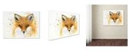 """Trademark Global Michelle Faber 'Fox Fire' Canvas Art - 32"""" x 24"""" x 2"""""""