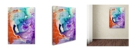 "Trademark Global Natasha Wescoat 'Mesmer' Canvas Art - 19"" x 14"" x 2"""
