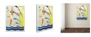 "Trademark Global Vintage Lavoie 'Ads Local 10' Canvas Art - 24"" x 18"" x 2"""