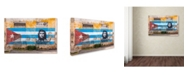 "Trademark Global Robert Harding Picture Library 'Mural 17' Canvas Art - 32"" x 22"" x 2"""