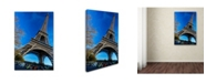 "Trademark Global Robert Harding Picture Library 'Eiffel Tower 6' Canvas Art - 32"" x 22"" x 2"""