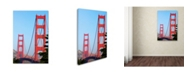 "Trademark Global Robert Harding Picture Library 'Bridge 7' Canvas Art - 19"" x 12"" x 2"""