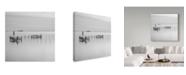 "Trademark Global Moises Levy 'Lines' Canvas Art - 18"" x 18"" x 2"""
