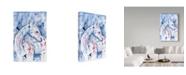 "Trademark Global Summer Tali Hilty 'Indigo' Canvas Art - 24"" x 16"" x 2"""
