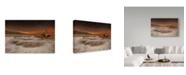 "Trademark Global Mikel Lastra 'Azkorri' Canvas Art - 19"" x 2"" x 12"""