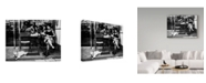 "Trademark Global Tatsuo Suzuki 'Sitting On The Patio' Canvas Art - 47"" x 2"" x 35"""