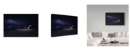 "Trademark Global Piet Flour 'Moonlight Sonata' Canvas Art - 32"" x 2"" x 22"""
