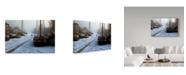 """Trademark Global Willem Hangelbroek 'Winter In Leeuwarden' Canvas Art - 19"""" x 2"""" x 12"""""""
