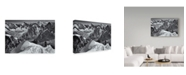 "Trademark Global Mihai Ian Nedelcu 'Arete' Canvas Art - 19"" x 2"" x 12"""
