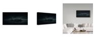 "Trademark Global Miguel Angel Martin 'Dark New York Skyline' Canvas Art - 19"" x 10"" x 2"""