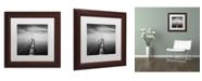 "Trademark Global Moises Levy 'Direction' Matted Framed Art - 11"" x 11"" x 0.5"""
