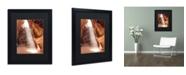"Trademark Global Moises Levy 'Illumination I' Matted Framed Art - 16"" x 20"" x 0.5"""