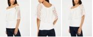 Thalia Sodi Off-The-Shoulder Flounce Top, Created for Macy's