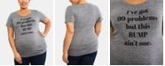 Motherhood Maternity Plus Size I've Got 99 Problems But This Bump Ain't One™ Maternity Graphic Tee