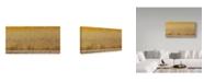"Trademark Global David Hua 'In The Magic Golden Would' Canvas Art - 47"" x 24"" x 2"""