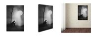 "Trademark Global Jay Satriani 'Monologue' Canvas Art - 47"" x 30"" x 2"""