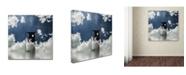 "Trademark Global Dave Quince 'Event Horizon' Canvas Art - 35"" x 35"" x 2"""