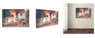 "Trademark Global Tatyana Tomsickova 'Apple Season' Canvas Art - 19"" x 12"" x 2"""