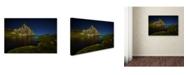 "Trademark Global David Martin Castan 'Glacier Anayet' Canvas Art - 47"" x 30"" x 2"""