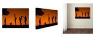 """Trademark Global Daniel Penciuc 'Moments' Canvas Art - 19"""" x 14"""" x 2"""""""