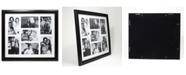 "Lawrence Frames Black Collage Frame - Seven Opening Gallery Frame - 4"" x 6"""