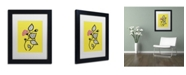 """Trademark Global Sylvie Demers 'Tanto Tiempo' Matted Framed Art - 11"""" x 14"""" x 0.5"""""""