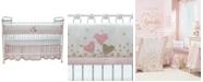 Lambs & Ivy Confetti Heart Crib Rail Cover