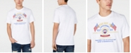 GUESS Men's Embroidered Logo Graphic T-Shirt