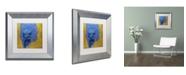 """Trademark Global Joarez 'Explosao' Matted Framed Art - 11"""" x 11"""""""