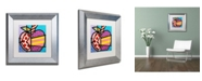 "Trademark Global Roberto Rafael 'Big Apple II' Matted Framed Art - 11"" x 11"""