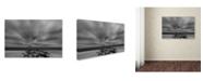"Trademark Global PIPA Fine Art 'Windy Beach' Canvas Art - 12"" x 19"""