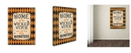"Trademark Global Stephanie Marrott 'Home Of The' Canvas Art - 14"" x 19"""