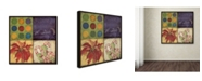 "Trademark Global Stephanie Marrott 'Holiday 4 Patch I' Canvas Art - 14"" x 14"""