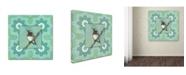 "Trademark Global Stephanie Marrott 'Taking A Rest' Canvas Art - 14"" x 14"""