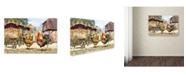 "Trademark Global The Macneil Studio 'French Cockerel' Canvas Art - 12"" x 19"""