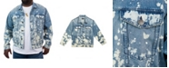 Mvp Collections By Mo Vaughn Productions Men's Big & Tall MVP Collections Denim Trucker Jacket