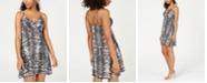 Planet Gold Juniors' Printed Button-Through Dress