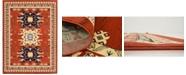 "Bridgeport Home Charvi Chr1 Terracotta 9' 10"" x 13' Area Rug"