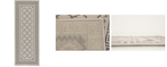 "Bridgeport Home Pashio Pas5 Gray 2' 2"" x 6' Runner Area Rug"
