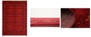 Bridgeport Home Vivaan Viv1 Red 8' x 11' Area Rug