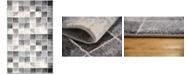 "Bridgeport Home Maasai Mss1 Light Gray 3' 3"" x 5' 3"" Area Rug"