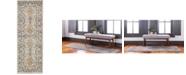 """Bridgeport Home Wisdom Wis2 Silver 2' 2"""" x 6' Runner Area Rug"""