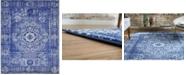 Bridgeport Home Wisdom Wis3 Royal Blue 8' x 10' Area Rug
