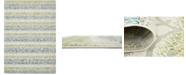 Bridgeport Home Pashio Pas4 Ivory 7' x 10' Area Rug