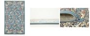 Bayshore Home Bridgeport Home Zara Zar6 Blue 3' x 5' Area Rug