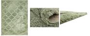 Bridgeport Home Filigree Shag Fil2 Green 9' x 12' Area Rug