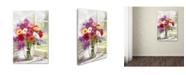 """Trademark Global The Macneil Studio 'Gerberas' Canvas Art - 16"""" x 24"""""""