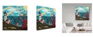 "Trademark Global Jake Hose 'Summer' Canvas Art - 18"" x 18"""