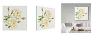 "Trademark Global Janneke Brinkman-Salentijn 'Single Yellow Rose' Canvas Art - 18"" x 18"""